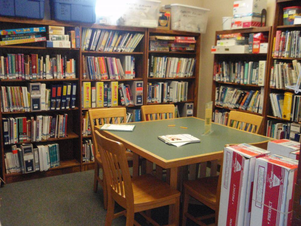 Photograph of Homeschool Resource Center